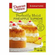 Duncan Hines Perfectly Moist Pineapple Supreme Cake Mix