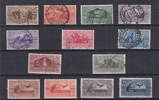 1930 Regno Virgilio Serie COMPLETA 282/290+A21/24 Usati Bei timbri VEDI FOTO 13V