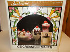 Vintage Sunbeam Ice Cream  Dessert Maker Electric Homemade