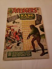 Avengers #8 - Stan Lee and Jack Kirby - 1st appearance of Kang the Conqueror!