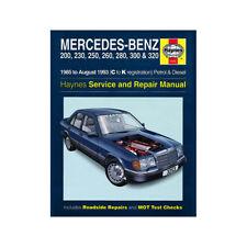 Mercedes-Benz 124 Workshop Manuals Car Service & Repair Manuals
