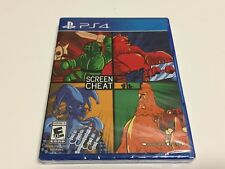 SCREENCHEAT for SONY PS4 Limited Run Games #114 BRAND NEW SEALED +FREE US SHIP