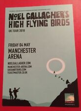 Noel Gallagher's High Flying Birds UK Tour 2018 A5 Promo Flyer Manchester Arena