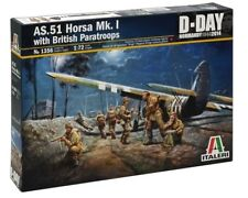 Italeri 1/72 AS.51 Horsa Mk.I with British Paratroopers # 1356
