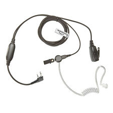 Covert ICOM Radio Earpiece (Right Angle 2 Pin) The-Security-Store