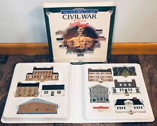 1997 The Cats Meow Wooden Village 9-pc Civil War Collection Complete Iob Shiloh!
