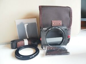 Kase K8 100mm Filter Holder Kit w/ Magnetic CPL, Adapters and Pouch