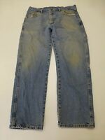Wrangler Jeans Mens Size 34X29 Regular Fit Blue Jeans Good Condition