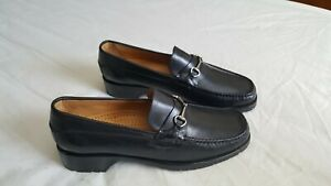 Cole Haan Womens Macassin Loafers Leather Black Sz 7.5 B NEW