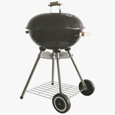 NEW ROUND RED PORTABLE CHARCOAL BARBEQUE BBQ GARDEN OUTDOOR CAMPING PATIO BLACK