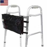 Wheelchair Side Bag Pouch Organizer Pocket Walker Phone Holder For Elderly