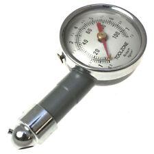 Medidor de Presión de Neumáticos-Dial de coche compacto de metal pesado deber medidor de la presión del neumático