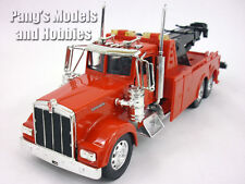 Kenworth W900 Tow Truck Diecast Metal 1/32 Scale Model by NewRay - RED