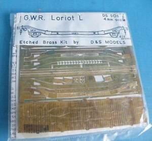 Bagged D & S 4mm White Metal Kit DS 506 - GWR 15T Loriot L Machine Wagon Dia G13