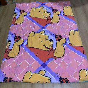 Vintage 90's Disney Winnie The Pooh Tigger Reversible Twin Comforter Bedding