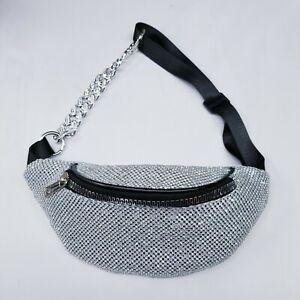 Waist Pack Sling Chest Pack Fanny Packs For Women Men Crossbody Shoulder Bag