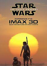 GUERRE STELLARI STAR WARS VII RISVEGLIO DELLA FORZA FORCE AWAKENS IMAX 3D