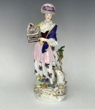 19th C. Superb Meissen Porcelain Figure, 1850.