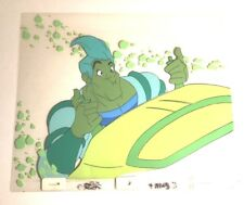 Space Ace (1984) Production cel Bluth Dragons Lair animation art Dexter Kimmy