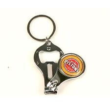 (2) NEW Detroit Pistons 3 IN 1 KEYCHAIN, Bottle Opener, Nail Clippers