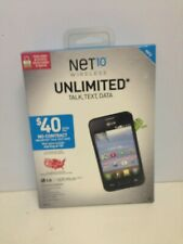 "NET 10 WIRELESS LG OPTIMUS FUEL ANDROID 3.5"" TOUCHSCREEN - NEW -"
