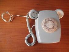 TELEFONO HERALDO VINTAGE MURAL AUTENTICO C.T.N.E. CITESA S400092 ECUALIZADO 60´s