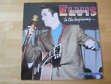 Elvis Presley LP:  In The Beginning Elvis, Scotty & Bill TOPLINE Records, U.K.