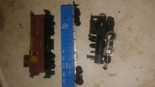 3 Ho train cars: Great Northern, X-270 & 72523, Engine 96. for parts; Fast S&H