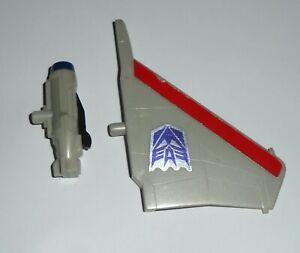 Transformers G1 Original Decepticon Jet Starscream Wing + Missile Launcher Parts