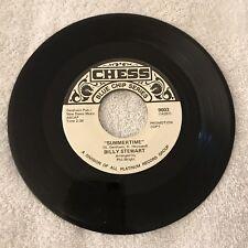 Billy Stewart Summertime / Summertime 45 RPM PROMO Chess 9003 VG++