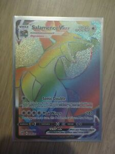 Darkness Ablaze Salamence VMAX 194/189 - Rainbow Secret Rare Pokemon Card