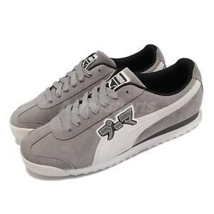 Puma Roma Classic Japanorama Grey White Men Casual Lifestyle Shoes 373807-01