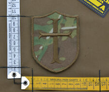 "Ricamata / Embroidered Patch ""Crusader"" Multicam with VELCRO® brand hook"