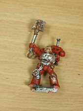 WARHAMMER CLASSIC METAL SPACE MARINE CHAPLAIN PAINTED (2622)