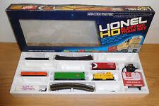 LIONEL HO GAUGE UNION PACIFIC DIESEL LOCOMOTIVE FREIGHT TRAIN SET BOXED #1481