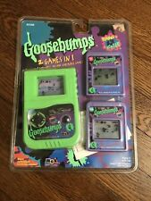 1996 Parachute Goosebumps Reading Is A Scream Portable LCD Handheld RARE NEW
