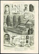 1888-antica stampa-Egitto Greco Romano Antichità Flinders Petrie (189)