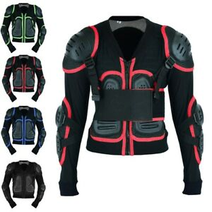 Kids Motorcycle Protective Motocross Body Armour Chest Protector Guard Armour UK