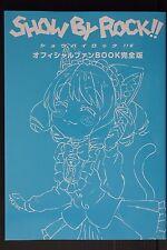 "JAPAN NEW TV Anime ""Show by Rock!! #"" Official Fan Book Kanzen-ban"