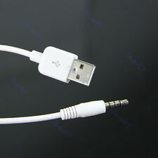 USB 3.5mm Data Sync Charging Cable Adapter for Apple iPod Shuffle 2nd