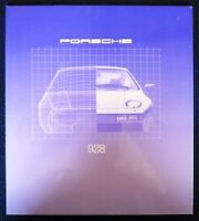 PORSCHE 928 CAR SALES BROCHURE. 1980. (USA PRINT).