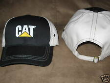 Caterpillar Ball Cap Black khaki hat  logo metal buckle