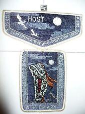 OA O Shot Caw Lodge 265, S-6, 1979 SE-6 Conference Host Flap & pp, Silhouette,FL