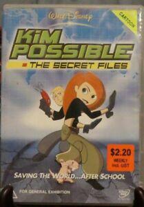 Kim Possible - The Secret Files (DVD, 2004) -  EX-Rental