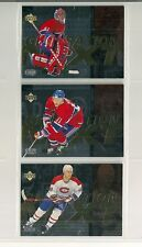 1996-97 UD Generation Next Montreal Canadiens Lot of 3 Cards