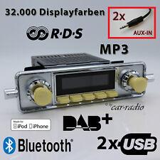 Retrosound San Diego DAB+ Komplettset VW Käfer Oldtimer Radio USB SD304IVO078068