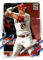 2021 Topps #27 Mike Trout Angels