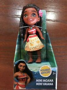 Disney Princess Mini Toddler Moana Poseable Doll New