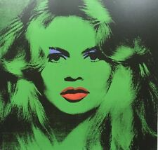 Andy Warhol: Brigitte Bardot Poster Pop 1974 Authorised Gagosian Gallery Print 2