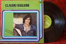 CLAUDIO BAGLIONI **En Español** VERY RARE 1981 Spain LP SUNG IN SPANISH*****